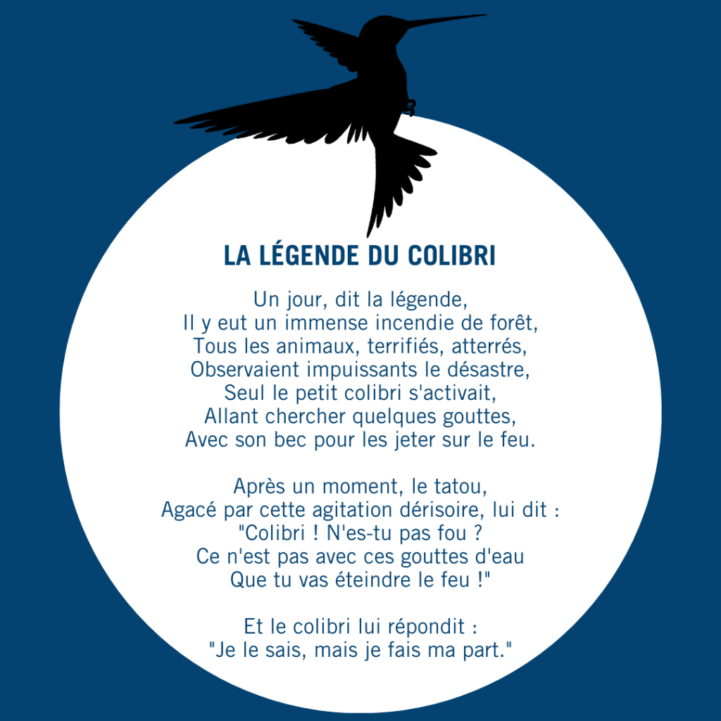 La légende du colibri(1)